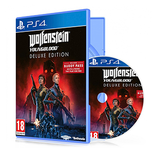 بازی Wolfenstein Youngblood Deluxe Edition برای PS4