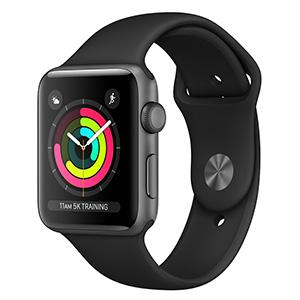 ساعت هوشمند اپل واچ ۳ مدل ۴۲mm Space Gray Aluminum Case